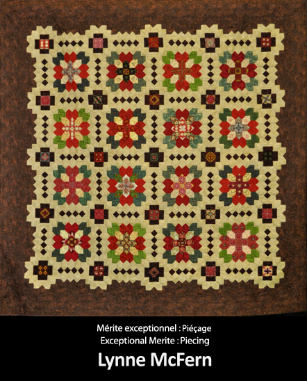 Mérite exceptionnel  Piéçage E6 ynne McFern copy