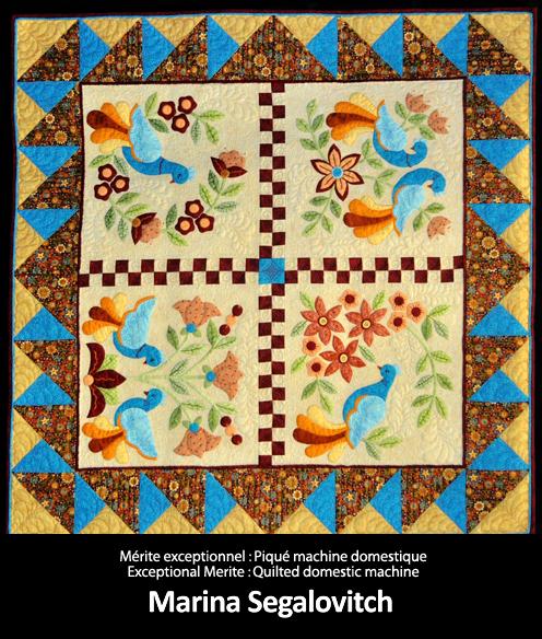 Merite exceptionnel Piqué machine domestique  E16 Marina Segalovitch copy (1)